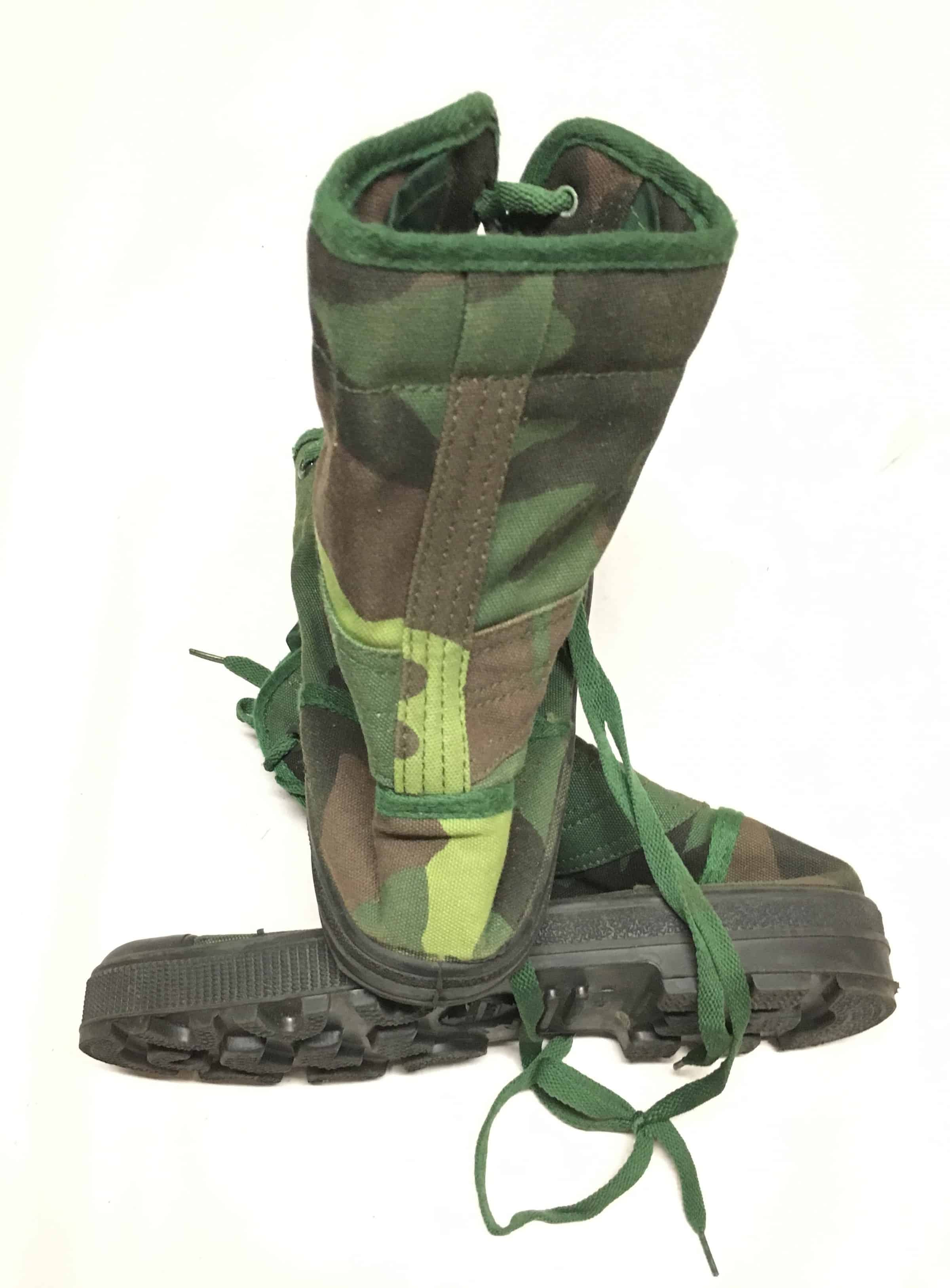 Pavn Camouflage Jungle Boots Enemy Militaria