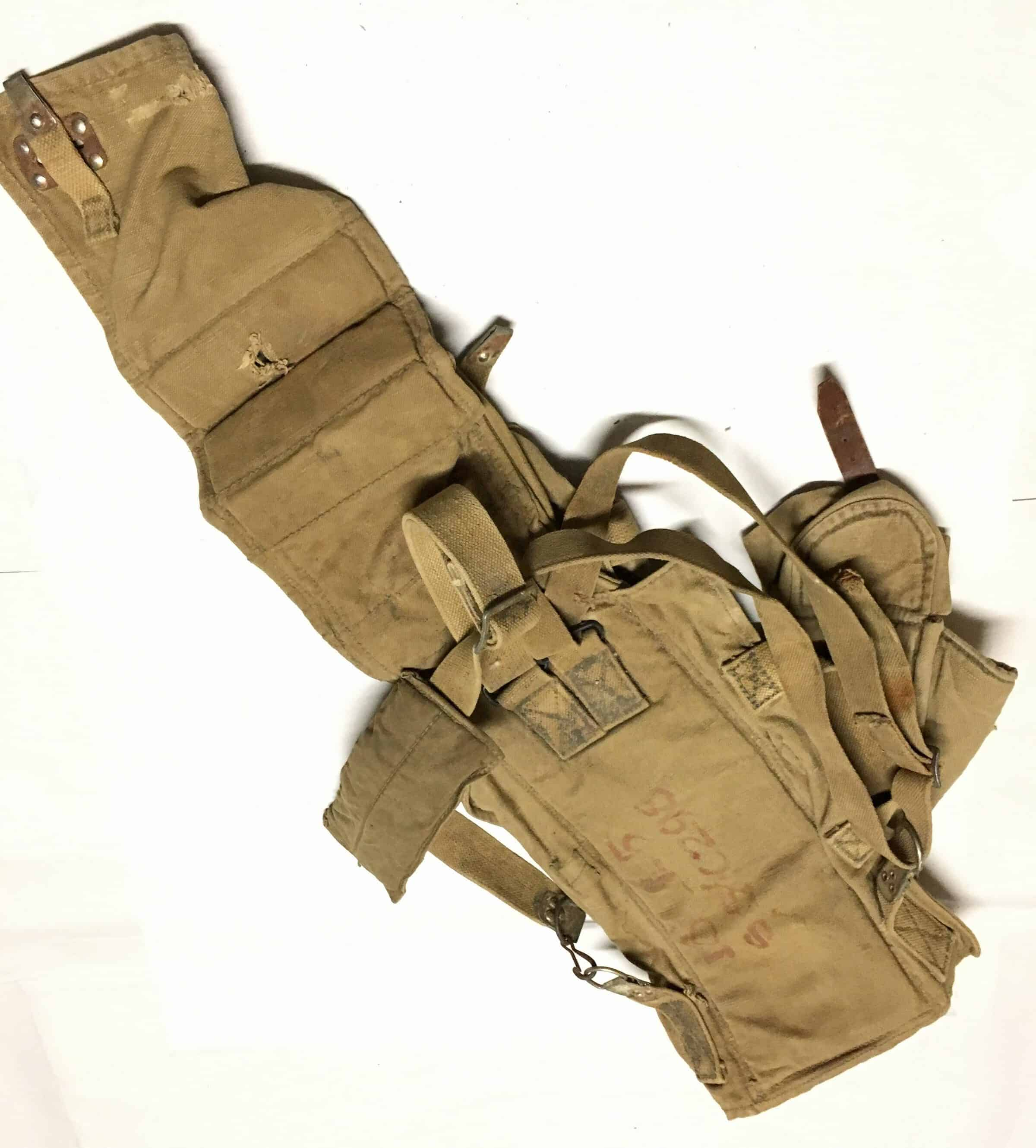 North Vietnamese Army 122mm Katyusha Rocket Carrying Pack Marked in  Vietnamese