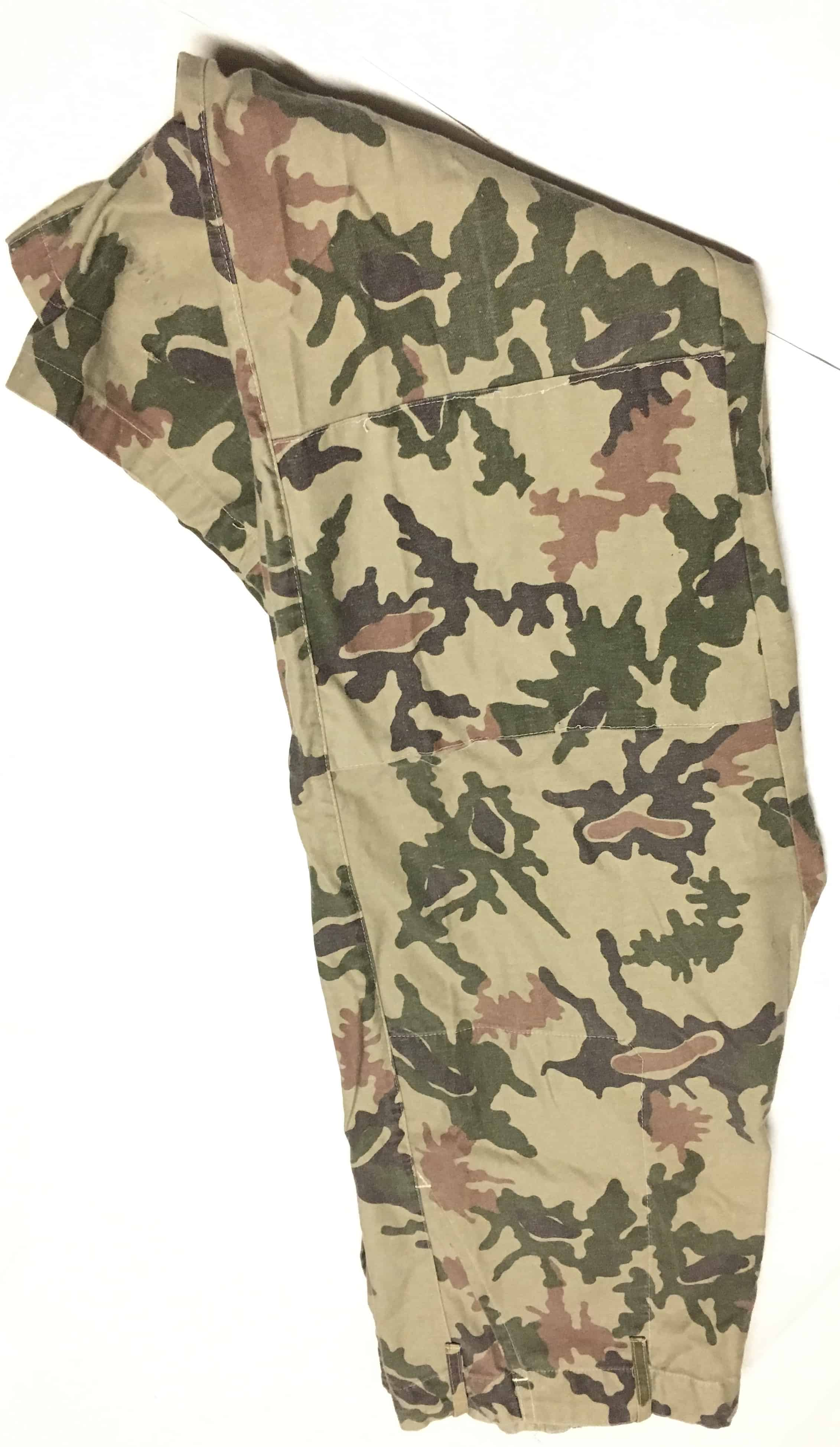 Iraqi Desert Camouflage Pants Unusual Pattern Similar To Egyptian