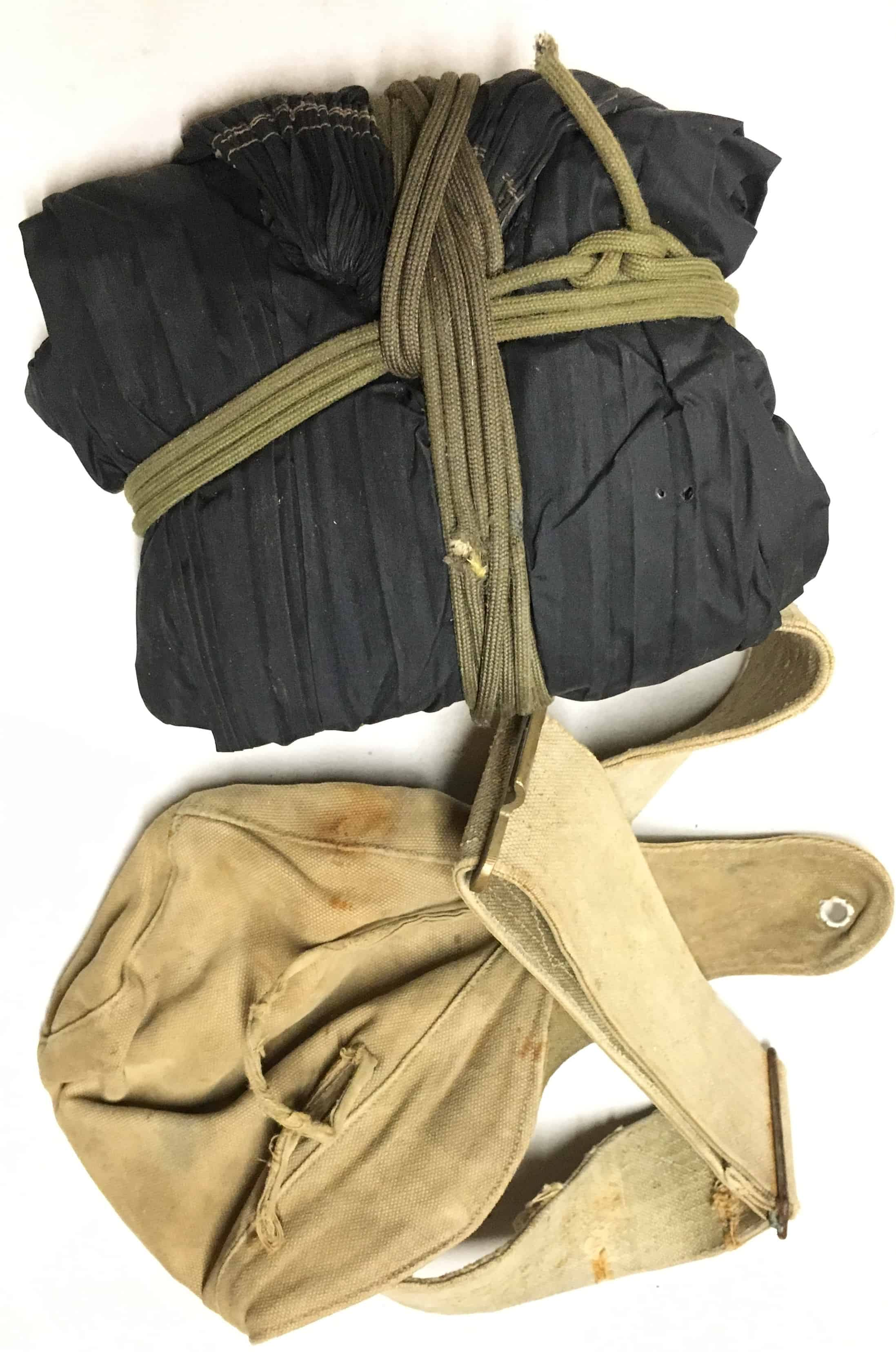 North Vietnamese Army Made Belt Rig With Nylon Hammock And