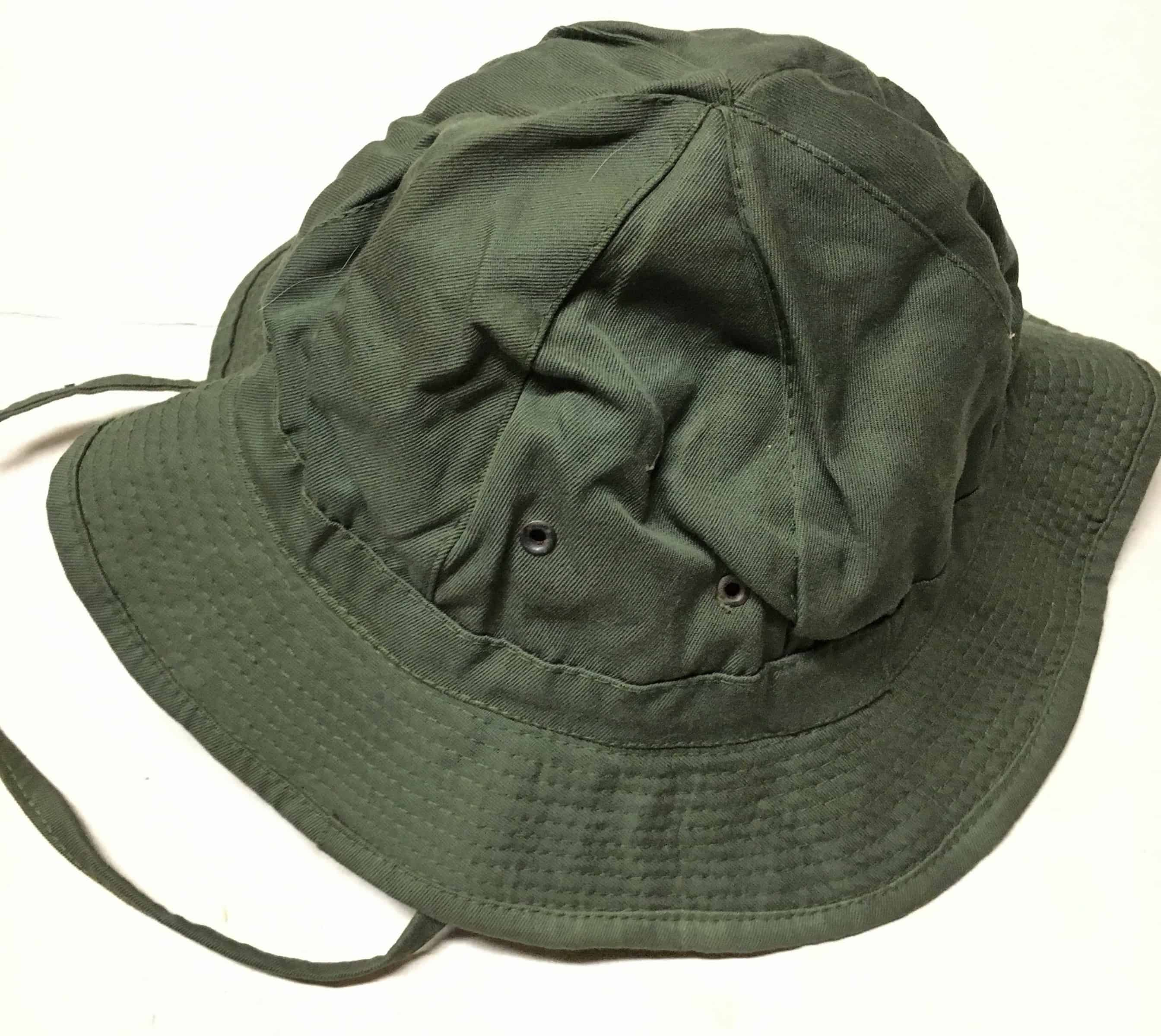North Vietnamese Army Viet Cong Boonie Hat Short Brim Green - Enemy ... d335044c50d