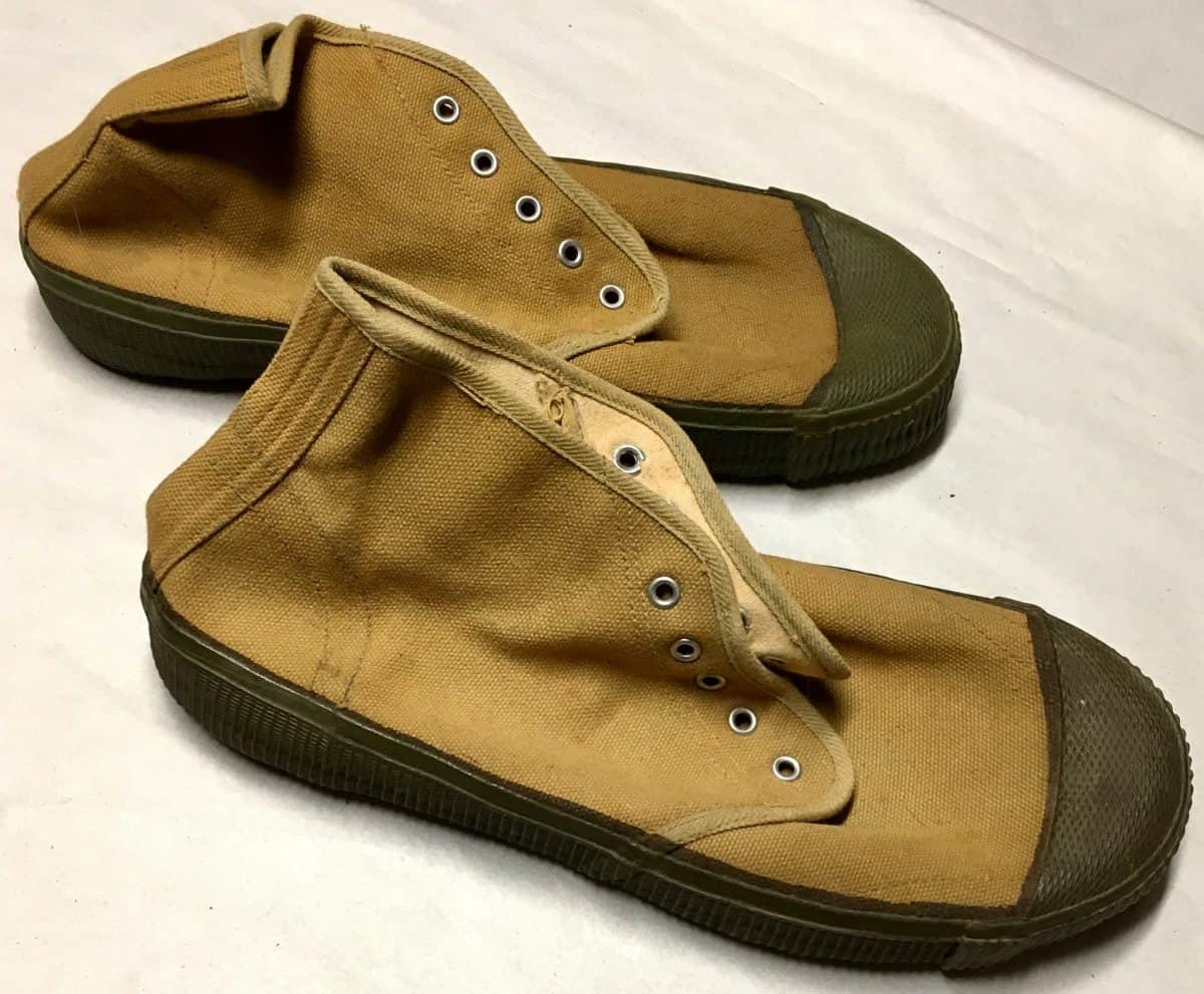 Chinese Viet Minh North Vietnamese Army Boots Sneakers