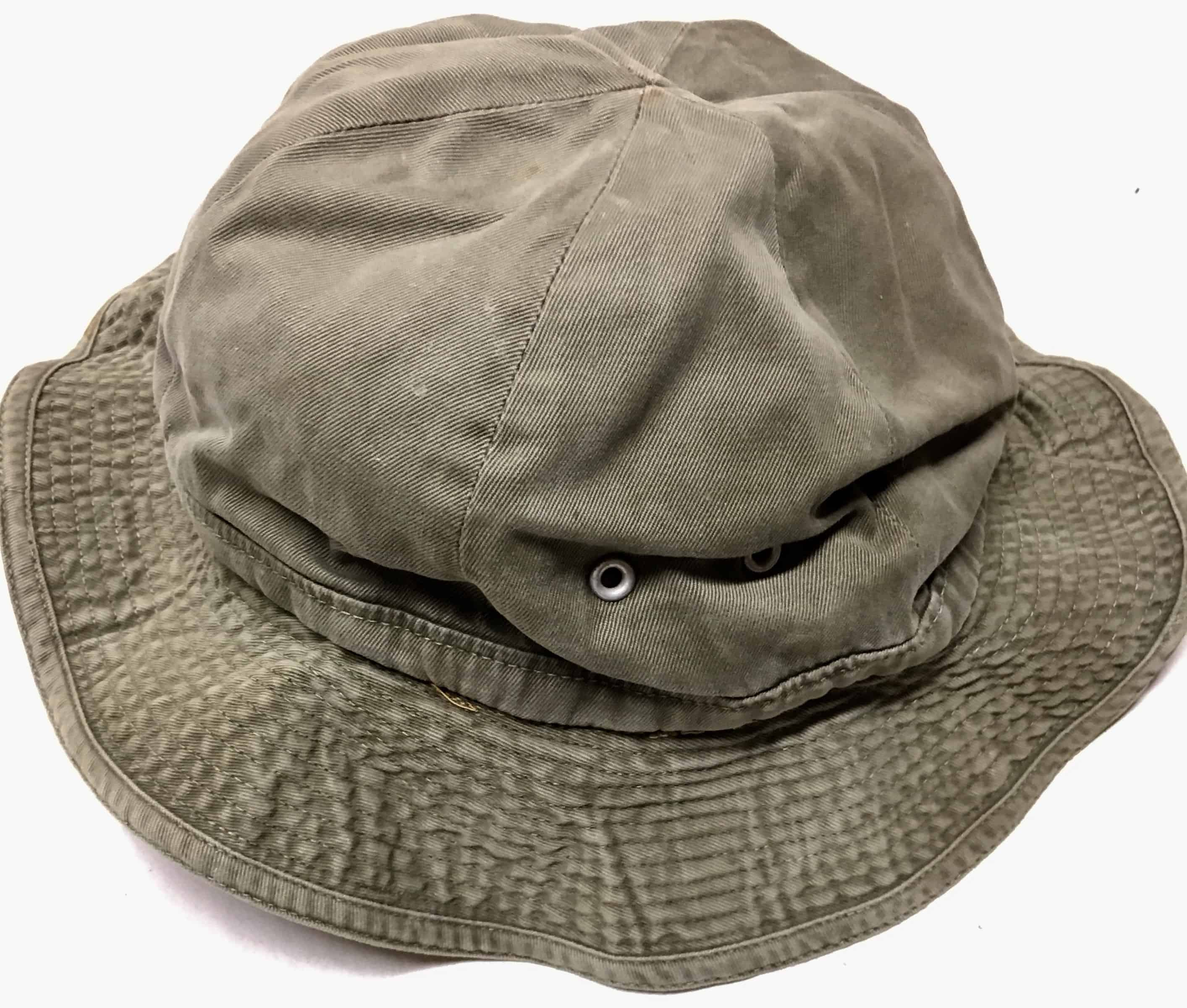 47938a77a4e North Vietnamese Army Viet Cong Boonie Hat Short Brim Olive Green - Enemy  Militaria