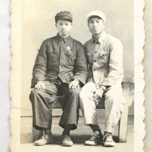 8e569fc65e2 Photograph of Chinese Korean War Soldiers with Sneakers